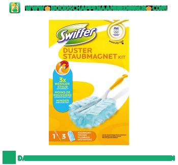 Swiffer Duster starterkit met 3 stofdoeken aanbieding
