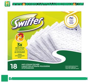 Swiffer Sweeper navullingen stofdoeken aanbieding