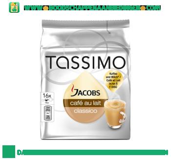 Tassimo Jacobs café au lait classico aanbieding