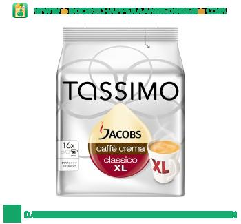 Tassimo Jacobs caffe crema classico XL aanbieding