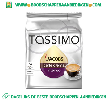 Tassimo Jacobs caffe crema intenso aanbieding