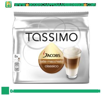 Tassimo Jacobs latte macchiato classico aanbieding