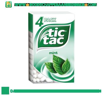 Tic Tac Mint 4-pak aanbieding