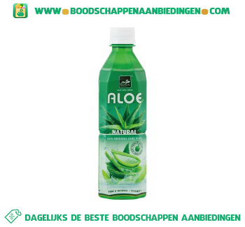 Tropical Aloe vera drink aanbieding