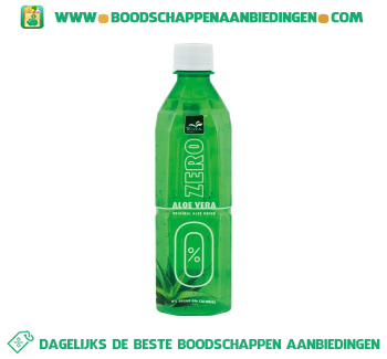 Tropical Aloe vera drink zero aanbieding