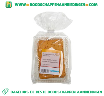 Tuinkruiden crackers aanbieding