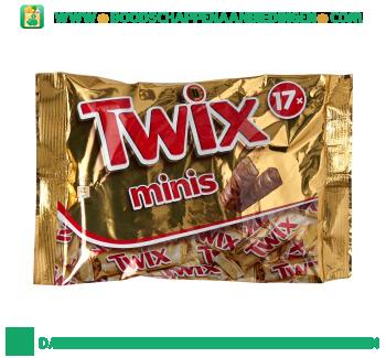 Twix Mini`s aanbieding