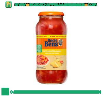Uncle Ben`s Zoetzure saus extra ananas aanbieding