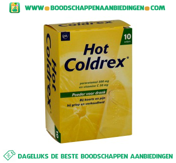 Uni Pharma Hot coldrex sachets aanbieding