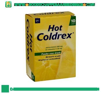 Hot coldrex sachets aanbieding