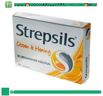 Uni Pharma Strepsils citroen honing aanbieding