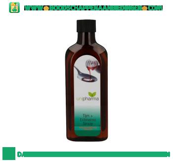 Uni Pharma Thijmsiroop met echinacea aanbieding
