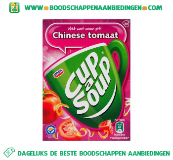 Unox Cup-A-Soup Chinese Tomatensoep aanbieding