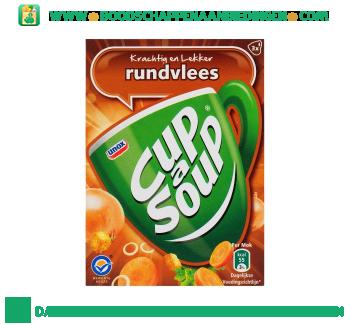 Unox Cup-A-Soup Rundvleessoep aanbieding