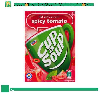 Unox Cup-a-soup pittige tomatensoep aanbieding
