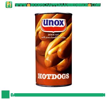 Unox Hotdogs aanbieding