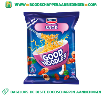 Unox Noodles good noodles saté aanbieding