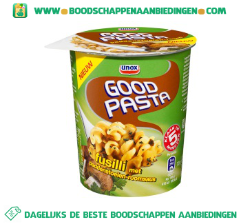 Unox Pasta goodpasta paddestoelenroom aanbieding