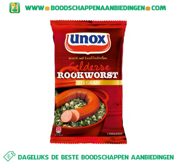 Unox Rookworst aanbieding