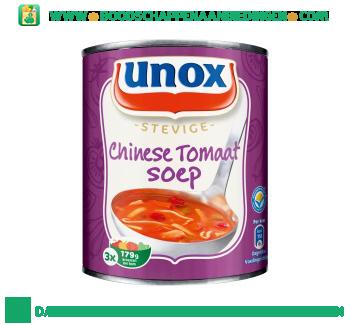 Unox Soep in blik Chinese tomatensoep aanbieding