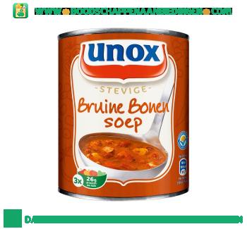 Unox Soep in blik stevige bruine bonensoep aanbieding