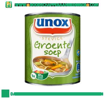 Unox Soep in blik stevige groentesoep aanbieding