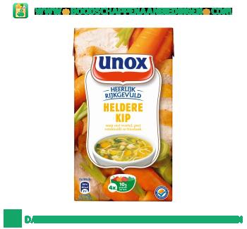 Unox Soep in pak kippensoep aanbieding
