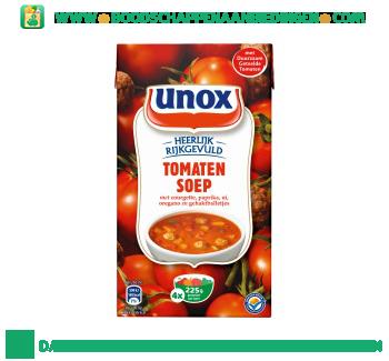 Unox Soep in pak tomatensoep met balletjes aanbieding