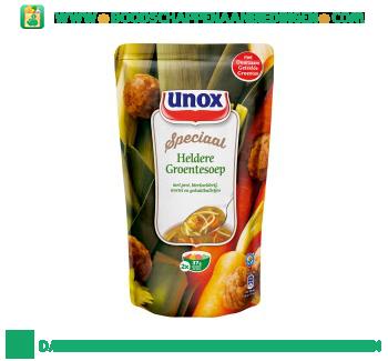 Unox Soep in zak heldere groentesoep aanbieding