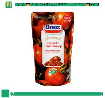 Unox Soep in zak klassieke tomatensoep aanbieding