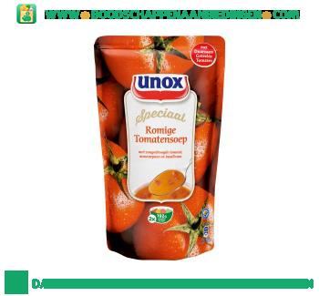 Unox Soep in zak romige tomatensoep aanbieding