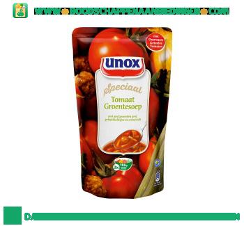 Unox Soep in zak tomaat groentesoep aanbieding