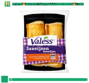 Valess Vegetarische saucijzenbroodjes aanbieding
