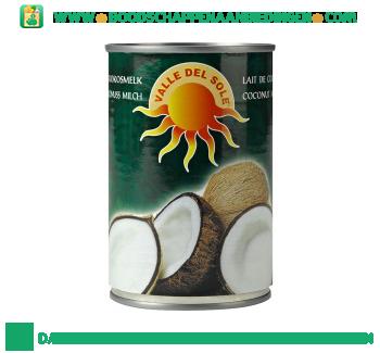Valle del sole Kokosmelk aanbieding