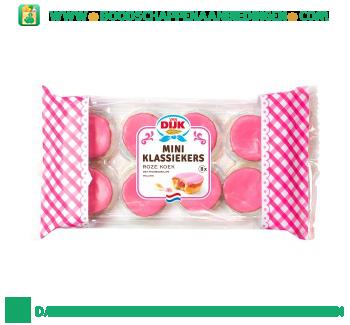 Van Dijk Mini klassiekers roze koek aanbieding