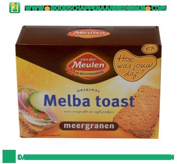 Van der Meulen Melba toast meergranen aanbieding