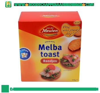 Van der Meulen Melba toast rondjes aanbieding