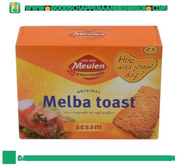Van der Meulen Melba toast sesam aanbieding