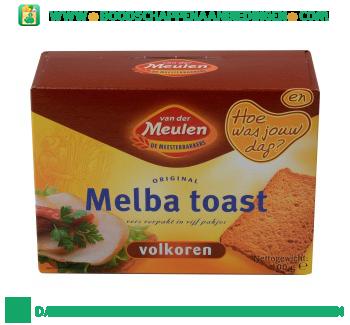 Van der Meulen Melba toast volkoren aanbieding