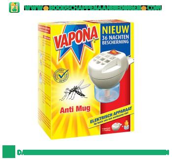 Vapona Anti mug stekker aanbieding