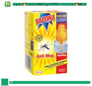 Vapona Anti mug stekker navulling aanbieding