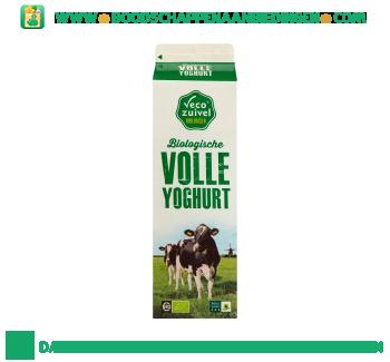 Biologische volle yoghurt aanbieding