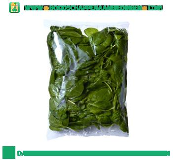 Veldverse spinazie ongewassen aanbieding