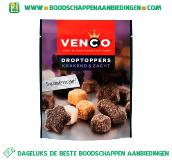 Venco Droptoppers krakend & zacht aanbieding