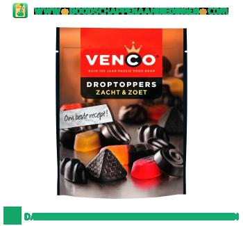Venco Droptoppers zacht & zoet aanbieding