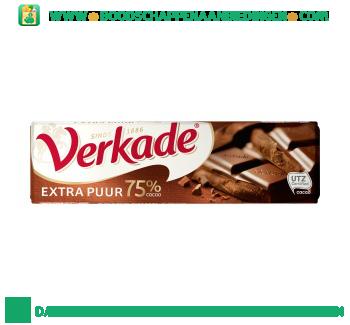 Verkade Chocoladereep extra puur aanbieding
