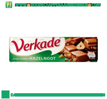 Verkade Chocoladereep melk & hazelnoot aanbieding