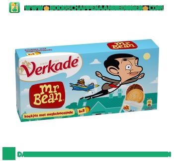 Verkade Mr. Bean koekjes met melkchocolade aanbieding