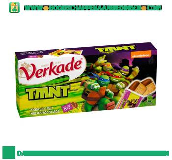Verkade Turtles koekjes met melkchocolade aanbieding