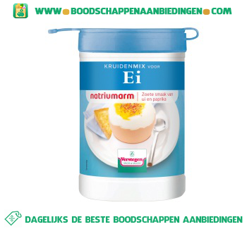 Kruidenmix voor ei natriumarm aanbieding